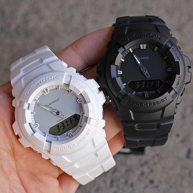 [Mã FARSBR243 giảm 15% đơn 249K] Đồng hồ nam dây nhựa G-SHOCK Casio chính hãng Anh Khuê G-100CU-7ADR
