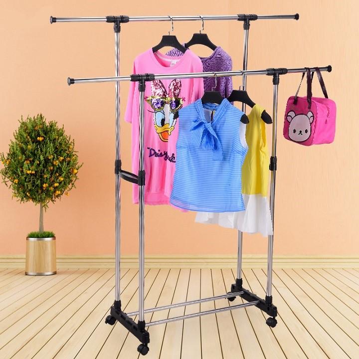 Giàn phơi quần áo đôi lắp ráp 2 tầng inox cao cấp tiện lợi - 9941171 , 1325565718 , 322_1325565718 , 229000 , Gian-phoi-quan-ao-doi-lap-rap-2-tang-inox-cao-cap-tien-loi-322_1325565718 , shopee.vn , Giàn phơi quần áo đôi lắp ráp 2 tầng inox cao cấp tiện lợi