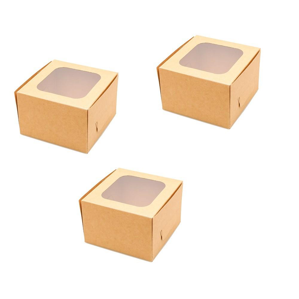 Combo 24 bộ 72 hộp giấy kraft và hộp nhựa thực phẩm
