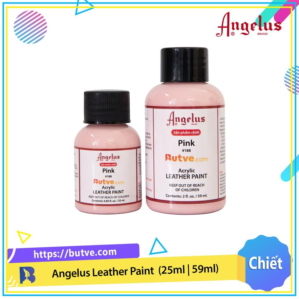 Màu acrylic vẽ da chuyên dụng Angelus Leather Paint - Pink (25ml   59ml)