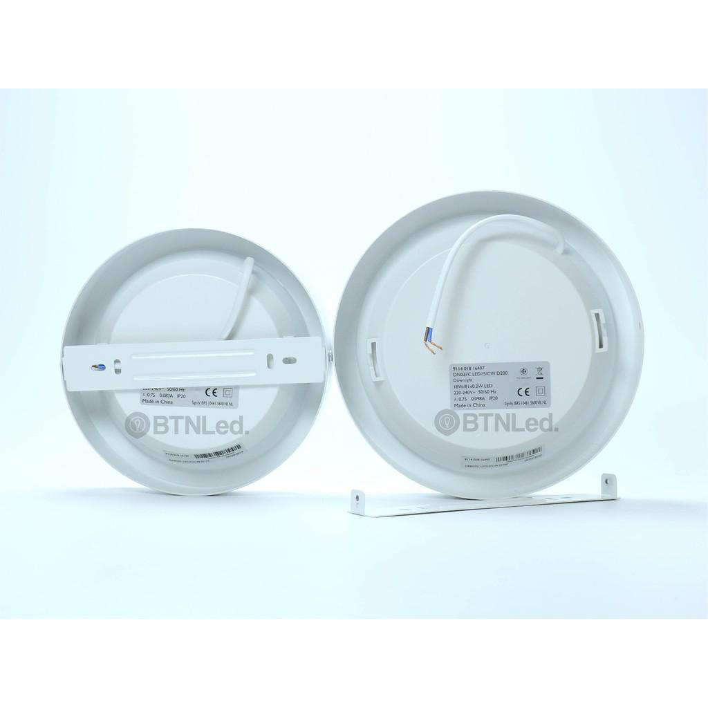 Bộ đèn PHILIPS LED Ốp Trần Nổi DN027C - [HÀNG CHÍNH HÃNG] - Dải công suất  rộng, kiểu dáng đa dạng - Bóng đèn Hãng Philips