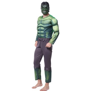 Thanh lý trang phục cosplay hóa trang nhân vật Khồng lồ xanh Hulk cho người lớn