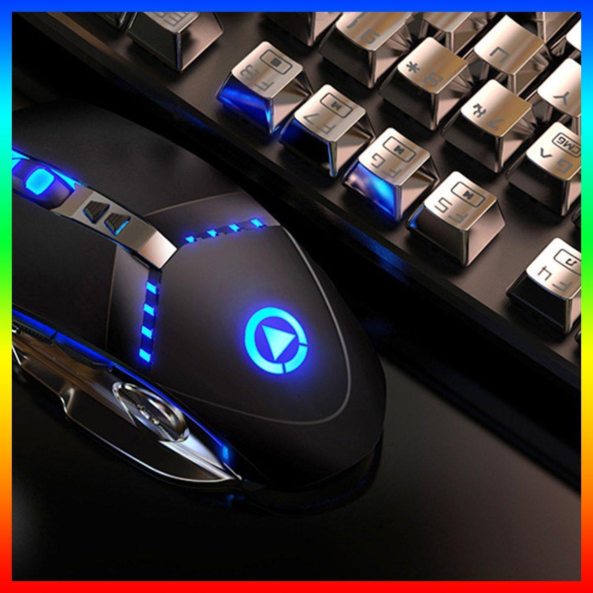 Chuột Chơi Game G3Pro Có Dây 7 Nút Bấm Nhiều Màu Sắc