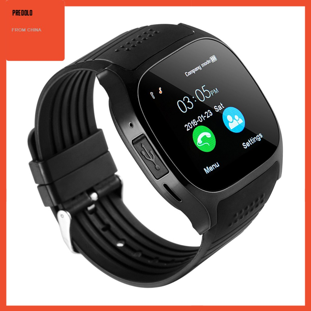 Đồng Hồ Thông Minh Kết Nối Bluetooth Hỗ Trợ Thẻ Sim / Tf