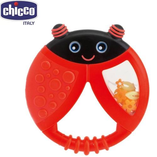 Đồ chơi xúc xắc cắn răng ( ngặm nướu ) Cánh cam 6M+ Chicco