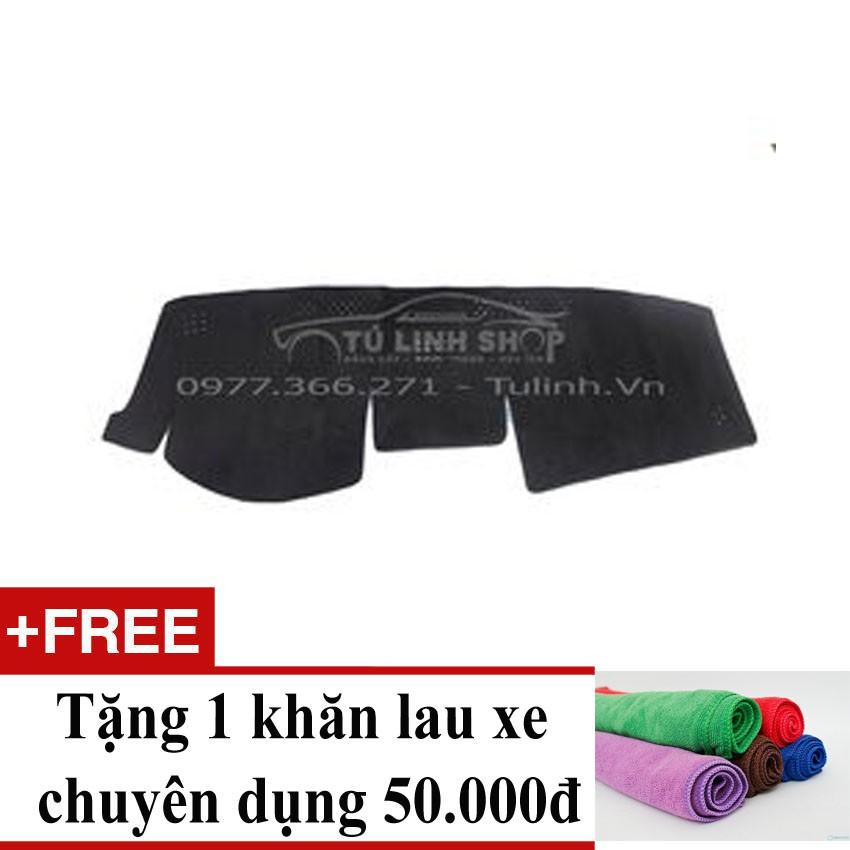 Thảm chống nắng taplo cho xe Camry 2014 Việt Nam+ Tặng 1 khăn lau xe chuyên dụng