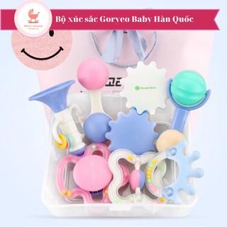 Bộ đồ chơi xúc xắc Hàn Quốc Goryeo Baby cho bé (Mẫu mới hộp gấu)