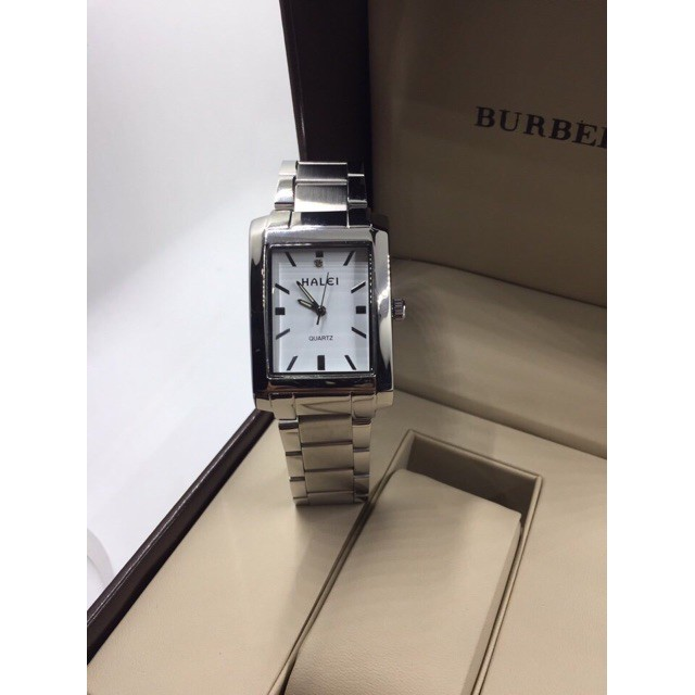 Đồng hồ nữ Halei màu trắng (Có size nam)