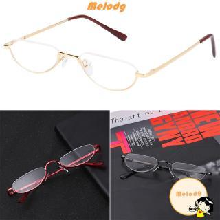 💍MELODG💍 Metal Flexible Portable Spring Hinge Eye wear Ultra Light Resin Reading Glasses