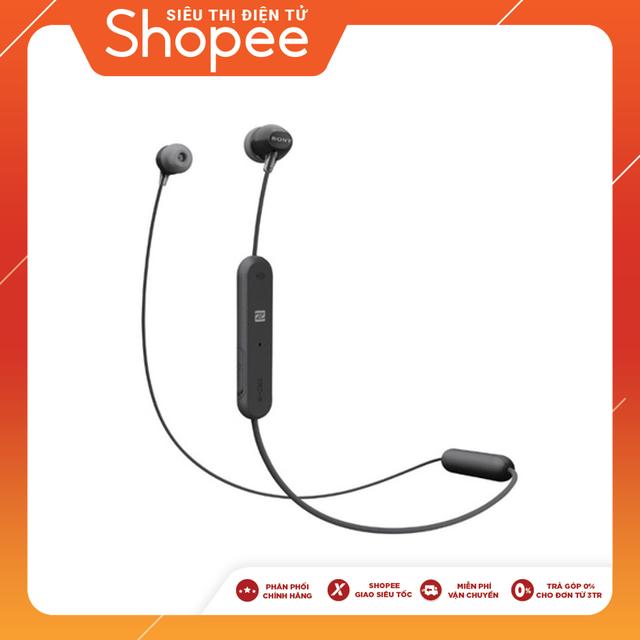 Tai nghe In-ear không dây Sony WI-C300 - Hàng Chính Hãng
