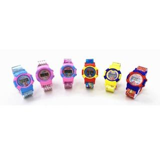 Đồ chơi đồng hồ nhiều mẫu mã, hình dáng hoạt hình vui nhộn cho bé (giao ngẫu nhiên)