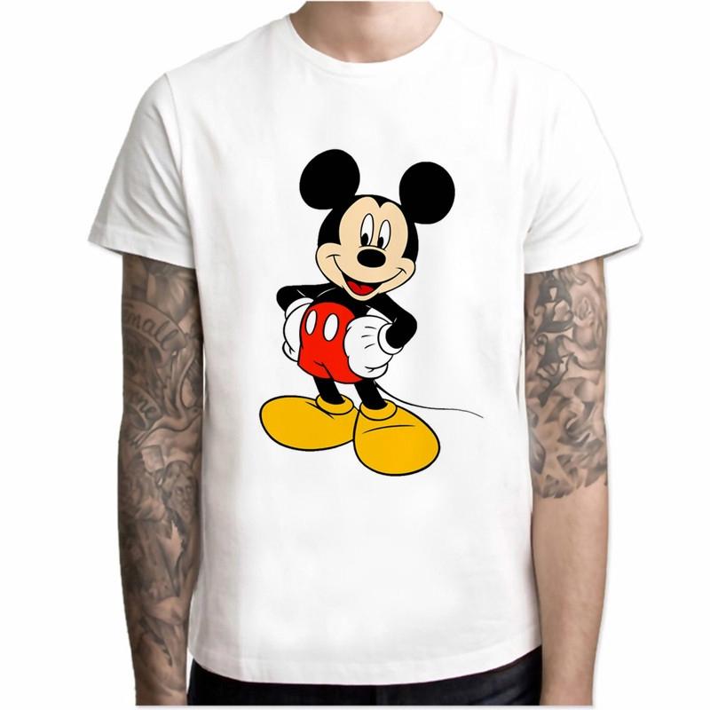 áo thun tay ngắn in hình chuột mickey cho nam - 21788558 , 2738767767 , 322_2738767767 , 329400 , ao-thun-tay-ngan-in-hinh-chuot-mickey-cho-nam-322_2738767767 , shopee.vn , áo thun tay ngắn in hình chuột mickey cho nam