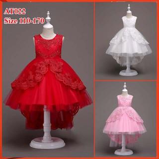 Đầm bé gái cao cấp cho bé từ 14kg đến 45kg- đầm công chúa cho bé đi dự tiệc at022