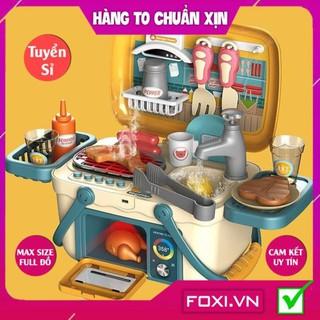 [FREESHIP HÀNG ĐẸP] Bộ đồ chơi nấu ăn-bác sĩ-nướng BBQ Foxi-nhập vai-giáo dục hướng nghiệp-có pin-âm thanh như thật