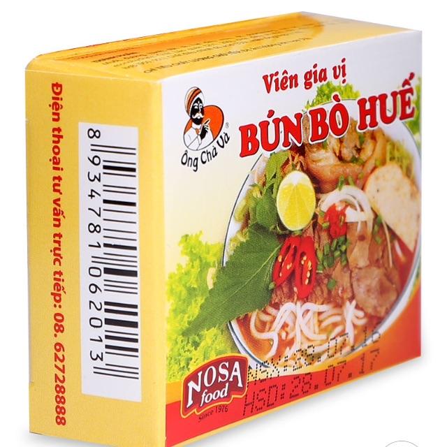 Viên gia vị bún bò huế Nosa Food 75g - 2570687 , 732687838 , 322_732687838 , 10000 , Vien-gia-vi-bun-bo-hue-Nosa-Food-75g-322_732687838 , shopee.vn , Viên gia vị bún bò huế Nosa Food 75g