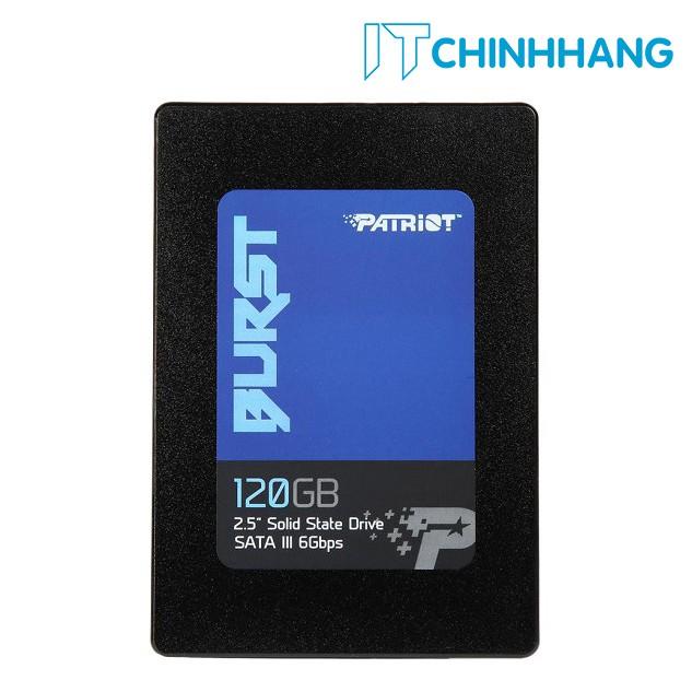 Ổ cứng SSD PATRIOT 120GB BURST - HÀNG CHÍNH HÃNG