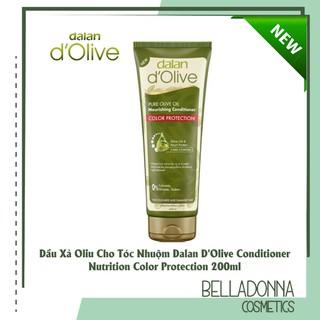 Dầu Xả Olive Cho Tóc Nhuộm Dalan D Olive Conditioner Nutrition Color Protection 200ml thumbnail