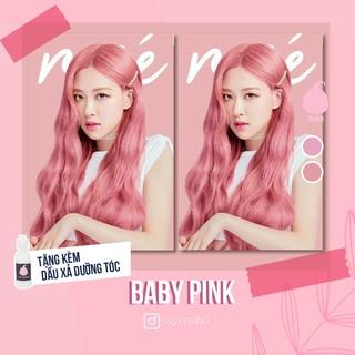 SET Thuốc Nhuộm Tóc Màu Hồng, Baby Pink Không Hại Tóc Cao Cấp