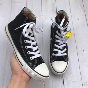 Giày Thể Thao Cv Đen Trắng Cao Cổ Thời Trang