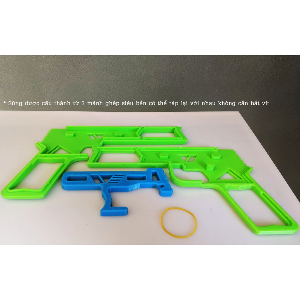 IMWI Gun - Súng bắn dây thun từ công nghệ in 3D