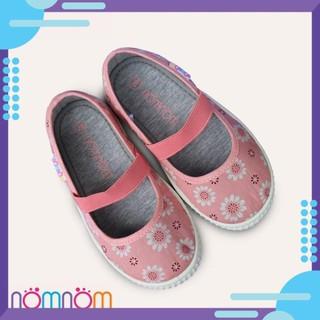 [HOT] Giày búp bê cho bé gái quai chun NomNom EPG1913 màu hồng