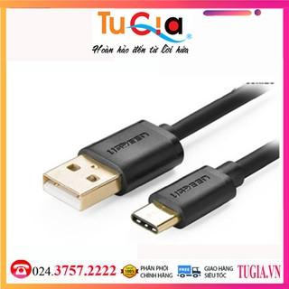[Mã ELFLASH5 giảm 20K đơn 50K] Cáp USB 2.0 chuẩn C cao cấp chính hãng Ugreen 30157 - Hàng chính hãng