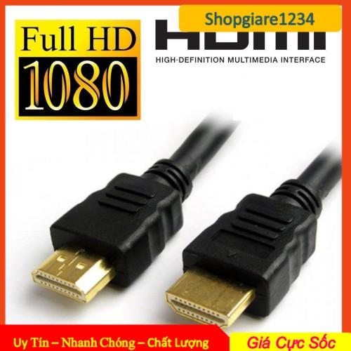 Cáp HDMI Tròn Zin 1.5m Chuẩn full HD 1080, 3D, Ultra HD