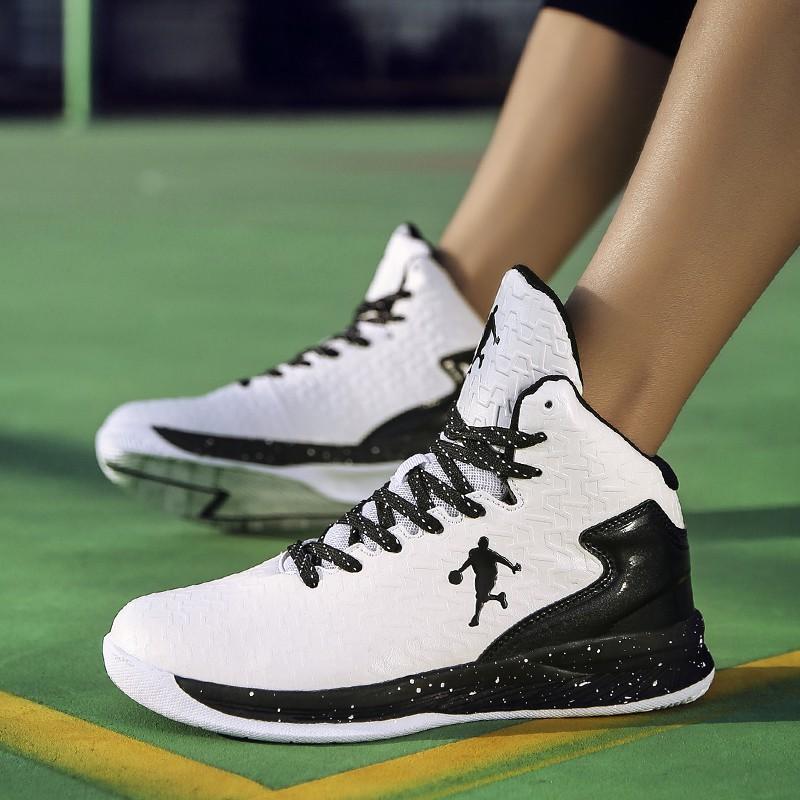 Giày bóng rổ thể thao Air Jordan phong cách NBA có chữ ký kích thước 36-44 cho nam nữ