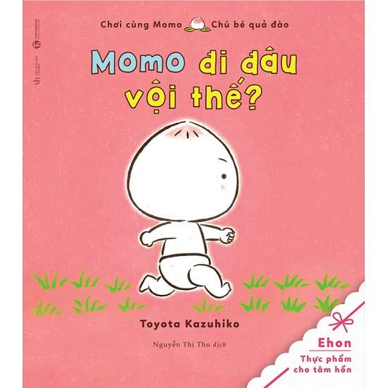 Sách - Chơi Cùng Momo - Chú Bé Quả Đào: Momo Đi Đâu Vội Thế?