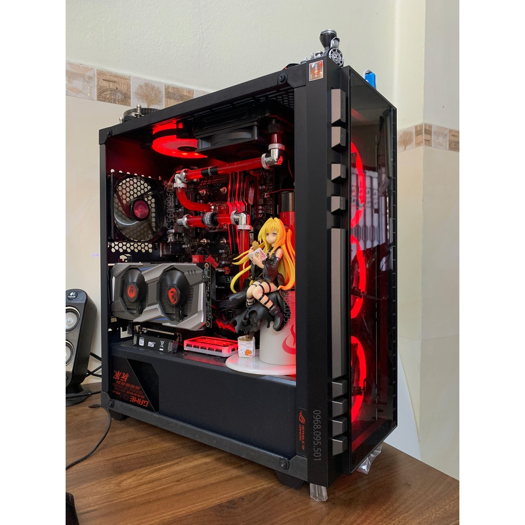 Bộ máy tính Ryzen 7-2700 8/16T Quadro 5000 3D đồ họa