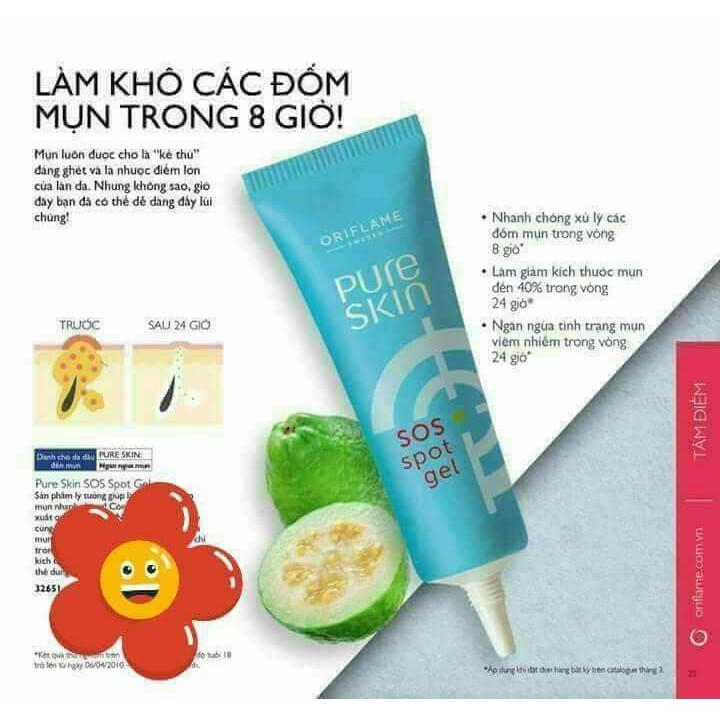 Gel trị mụn - Pure Skin SOS Spot Gel