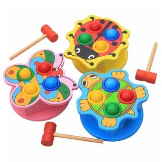 Đồ chơi gỗ : đập bóng