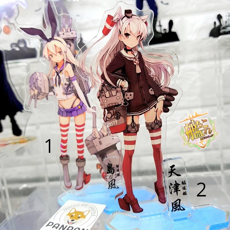 Mô Hình Standee Acrylic Anime Hình Kantai Colletion