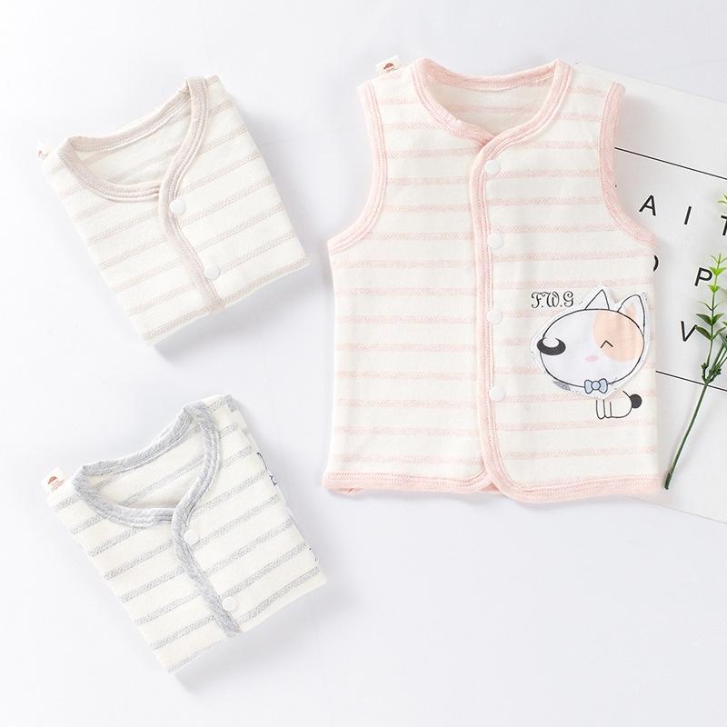 เด็กเสื้อกั๊กฤดูใบไม้ร่วงและฤดูหนาว 2019 เด็กใหม่เสื้อกั๊กอุ่นเสื้อกั๊กขนาดเล็ก