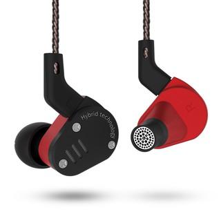 KZ ZSA 1BA + 1DD Hybrid In Ear Earphone HIFI DJ Monito Running Sport Earphone Headset Earbud