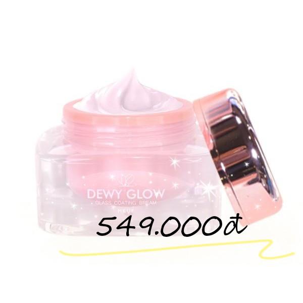 Kem dưỡng sáng da căng mọng MKUP Dewy Glow Glass Real Complex Cream