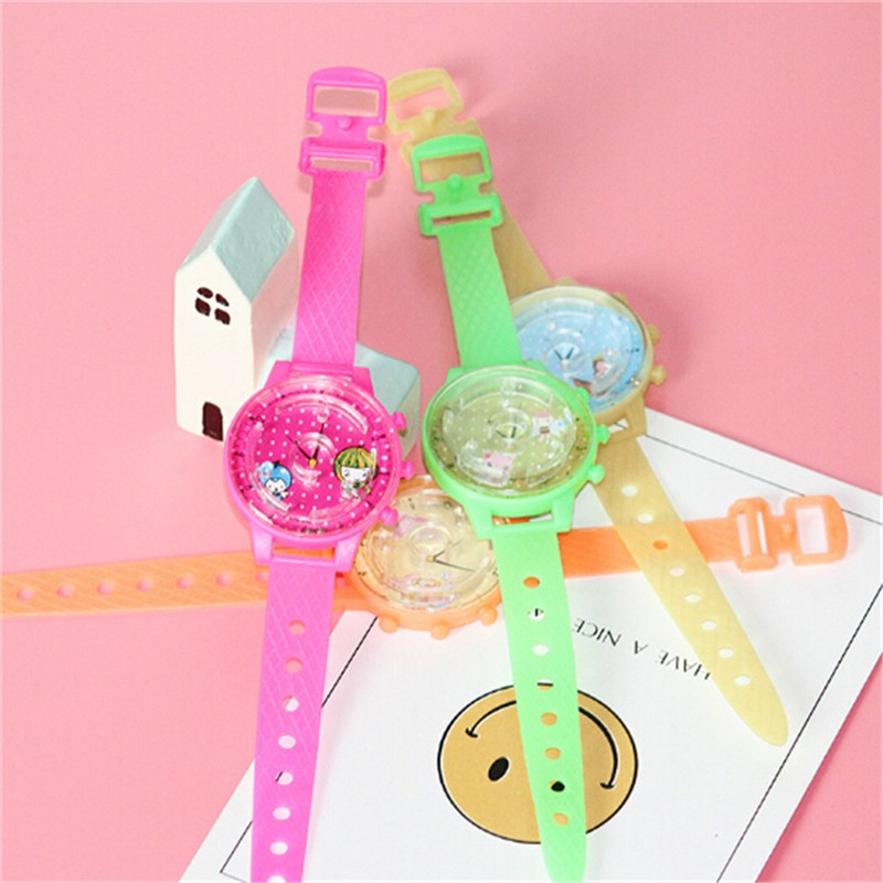 adore 3pcs Colorful Ball Maze Game Puzzle Labyrinth Watch Toys for Kids Birthday craving