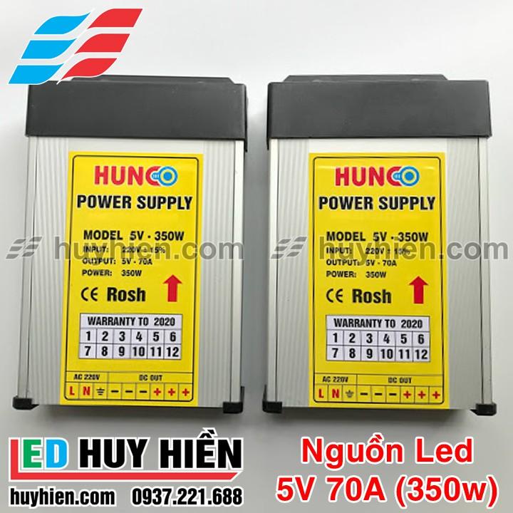 Nguồn led 5V 70A ngoài trời vỏ nhôm, Nguồn 5V 350W (70A) ngoài trời vỏ nhôm