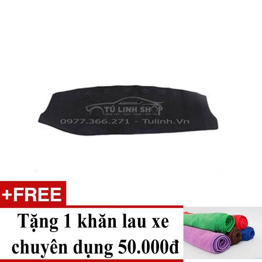 Thảm chống nắng taplo Nissan Teana + Tặng 1 khăn lau xe chuyên dụng