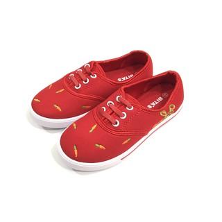 Giày lười vải cho Bé Gái GVBG72-DO Màu đỏ