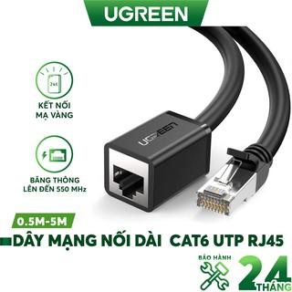 Dây mạng nối dài CAT6 UTP RJ45 Patch Cords UGREEN NW112 thumbnail