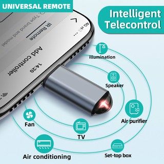 IR Appliances Wireless Infrared Remote Control Adapter Mobile Infrared phone Transmitter For IPhone/Micro USB/Type-C