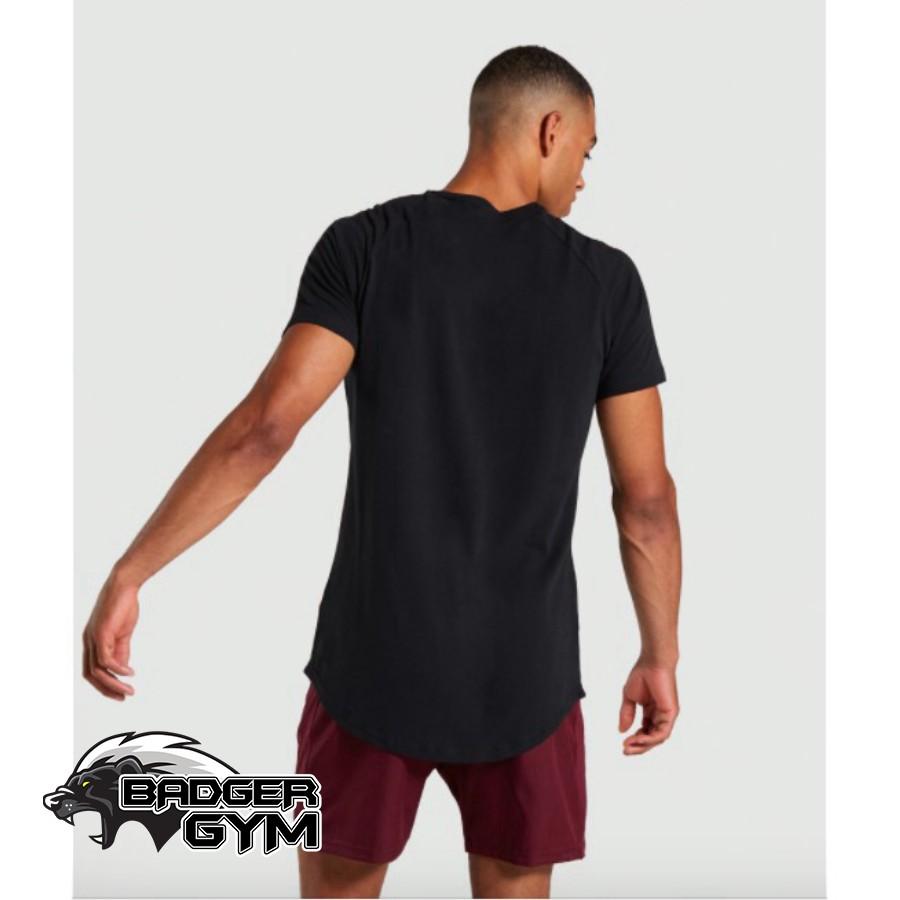 Áo phông thun cộc tay thể thao tập gym chạy bộ nam body co giãn 4 chiều thoải mái vận động GYGA