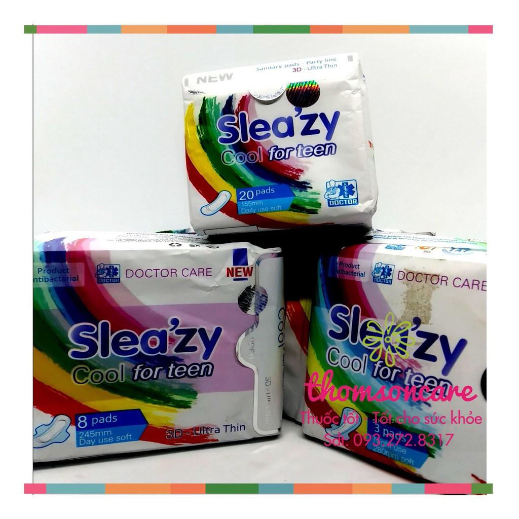 Băng vệ sinh Doctor Care Sleazy For Teen - Dành cho tuổi mới lớn - Luôn che tên