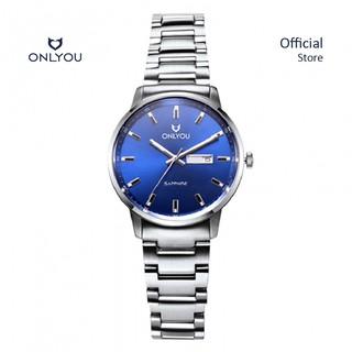 Đồng hồ Onlyou Nữ U1021LA Dây thép không gỉ 30mm thumbnail