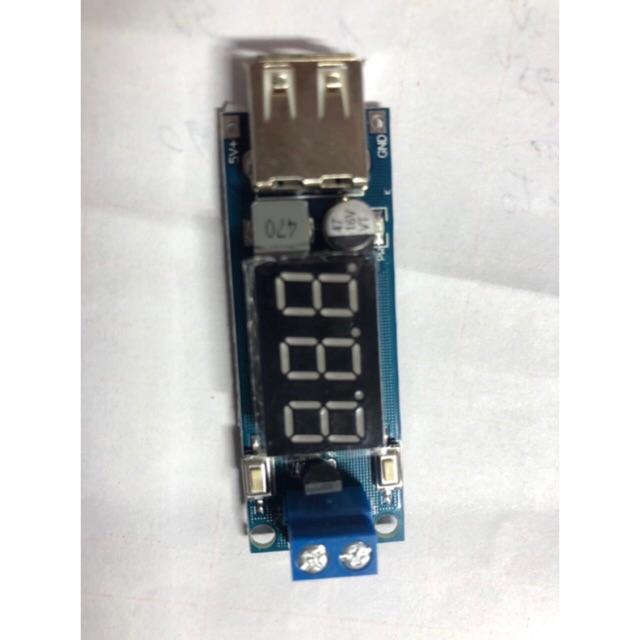 Mạch hạ nguồn điện áp 36V và 12V -> 5V