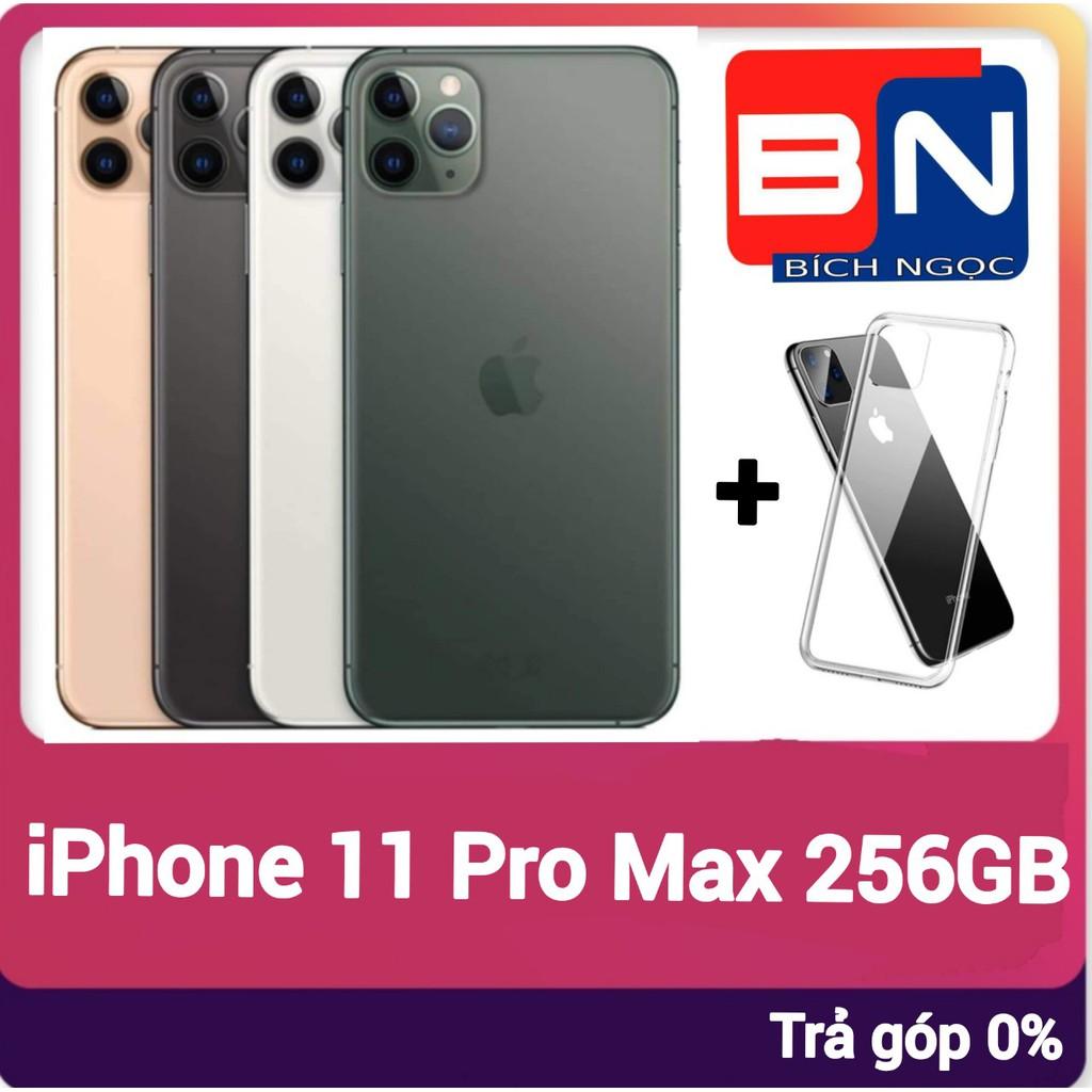 Combo Điện thoại Apple iPhone 11 Pro Max 256GB + ốp lưng bảo vệ - Hàng mới 100% chưa kích hoạt