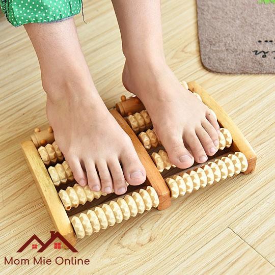 Mát xa chân bằng gỗ loại tốt - I00400