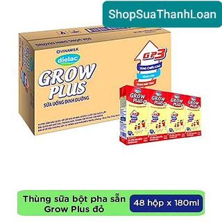 Thùng 48 hộp sữa bột pha sẵn Dielac Grow Plus 110ml. HSD thumbnail