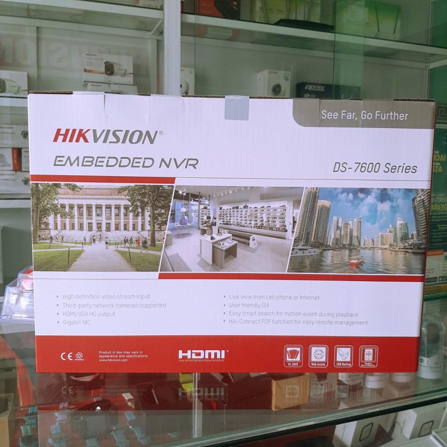 Đầu ghi hình Camera Ip 16 kênh DS-7616NI-K1(B) Hikvision chính hãng